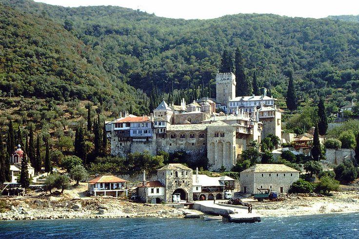 The monastery of Dochiariou. Monte Athos