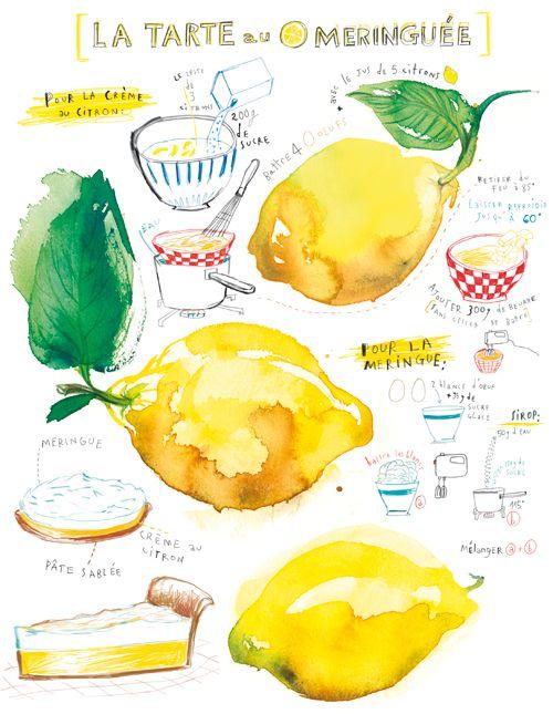 lemon meringue - Lucile's kitchen