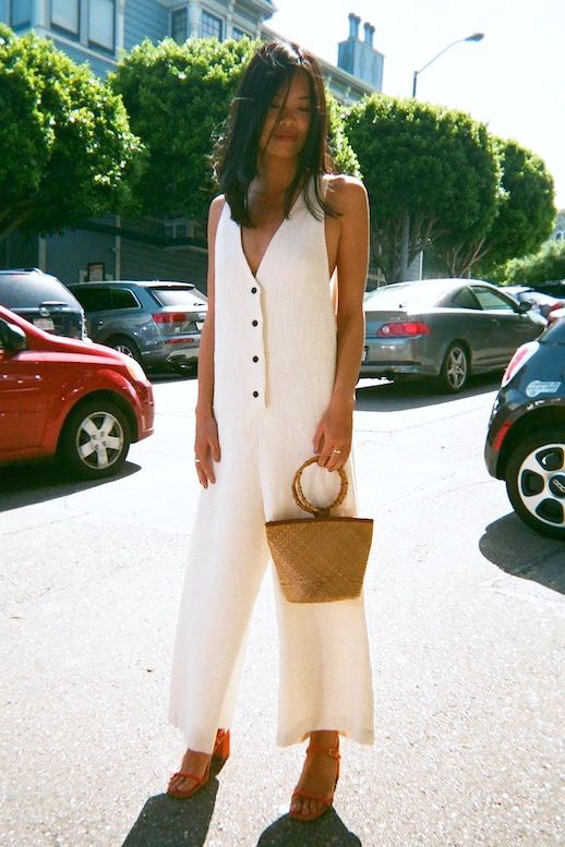 How To Wear A White Jumpsuit For Summer | Le Fashion | Bloglovin'