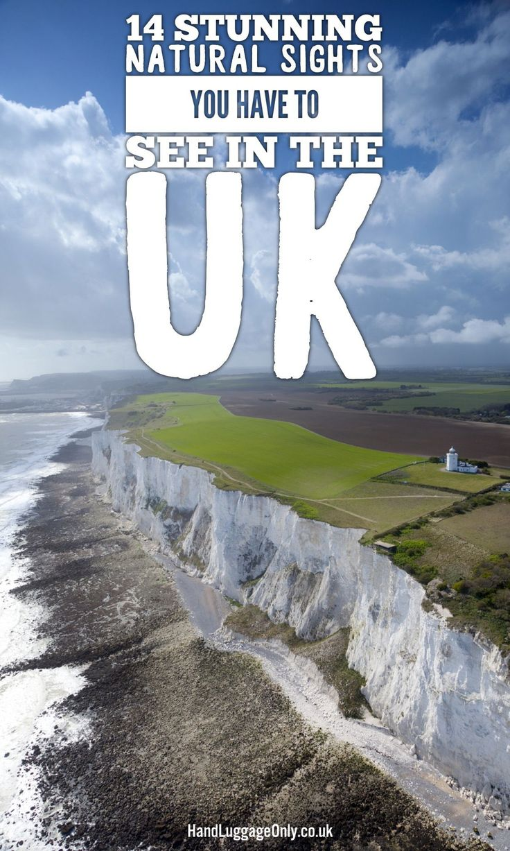 14 Stunning Natural Sights To See In The UK (And How To Get There!) - Hand Luggage Only - Travel, Food & Photography Blog