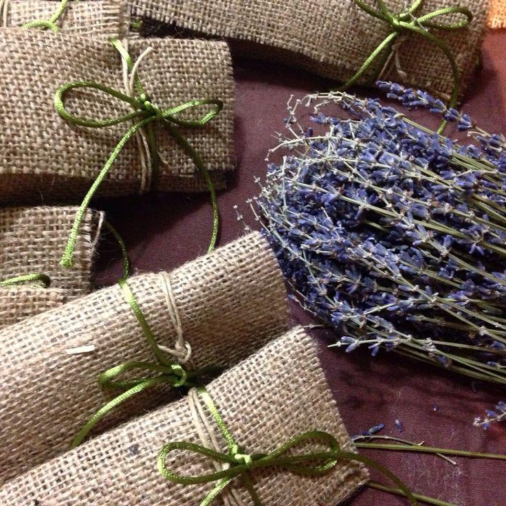 Handmade wedding gifts with levander