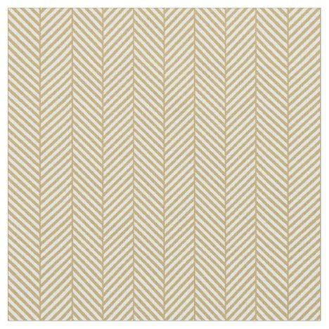 Gold Herringbone Fabric #chevron #craft #supplies