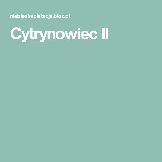 Cytrynowiec II