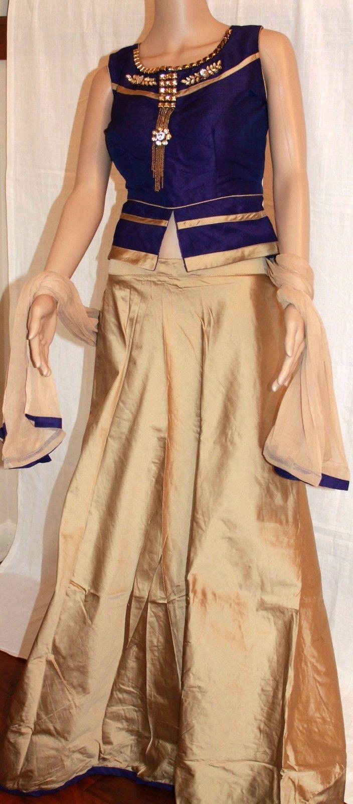 Nice Amazing New Designer Dress Long tops Skirt Lehanga Ghagra Choli Anarkali Gown Long dress  2018