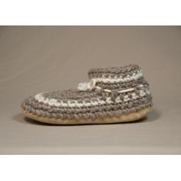 Women's Original Padraig Slipper, Grey Stripe, XL : P'LOVERS