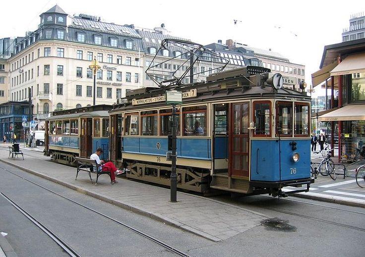 Heritage tram, Line 7 Stockholm