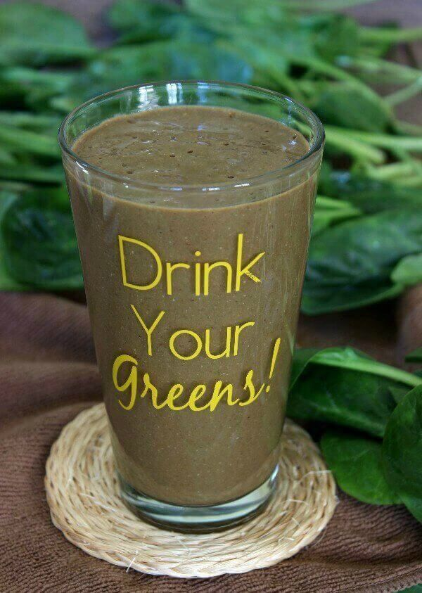 Mexican Iced Chocolate Smoothie is healthy and adds zing to your smoothie routine. So very delicious and spicy or cool it down with a bit of maple syrup. ~ https://veganinthefreezer.com