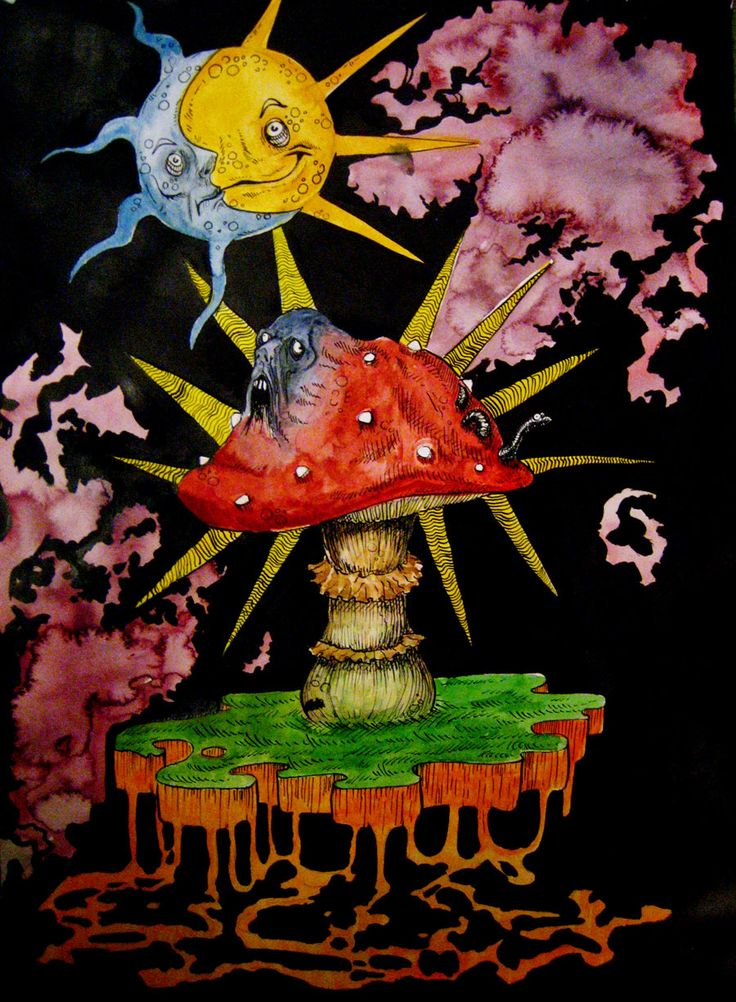 Infected mushroom by SandyClaw on DeviantArt