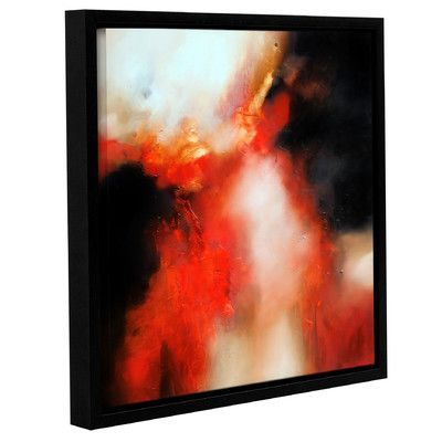 ArtWall 'Precipice' by Paul Bennett Framed Painting Print on Canvas Size: