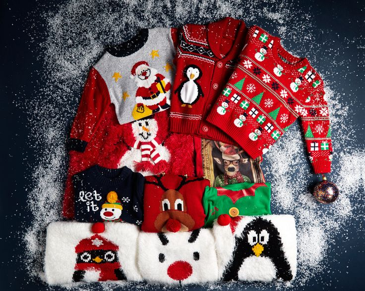 Make merry with our range of Christmas jumpers