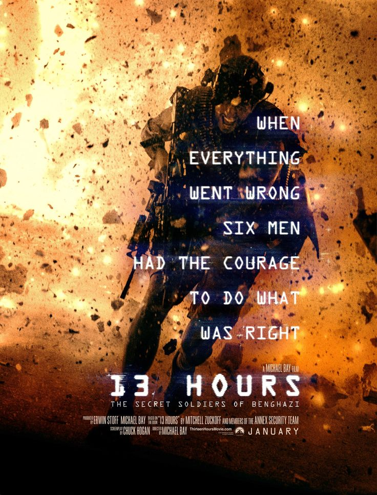 13 Hours The Secret Soldiers Of Benghazi Streaming