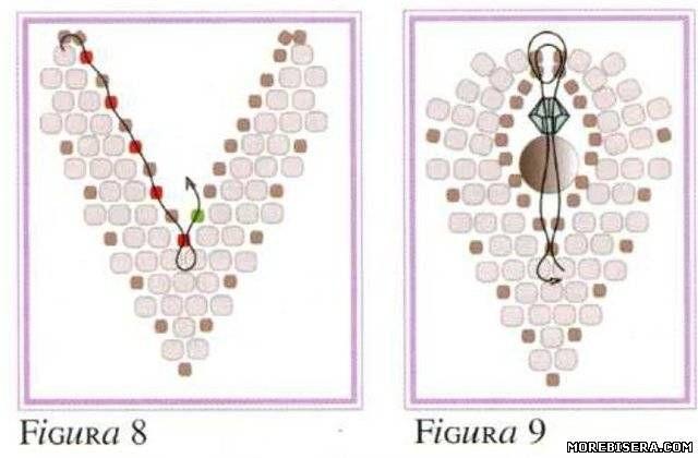 Браслет Цветы Листья - Браслеты - Схемы плетения бисером - Сокровищница статей - Плетение бисером украшений, деревьев и цветов, схемы мк