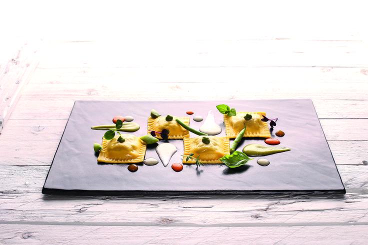 """""""Quadrelli con chianina e cardoncelli"""" dello chef Daniele D'Alberto del BR1 Cultural Space di Borgo Antico di Montesilvano Colle (PE)  #lamadia #lamadiatravelfood #food"""