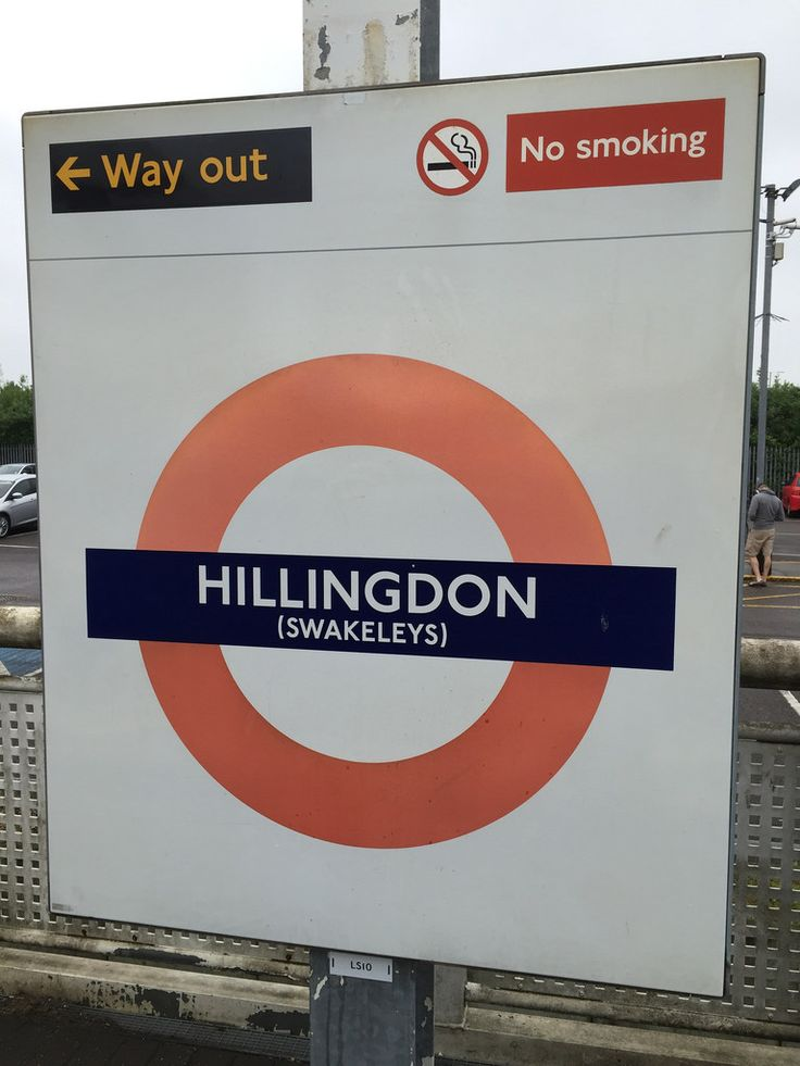 Hillingdon London Underground Station in Hillingdon, Greater London