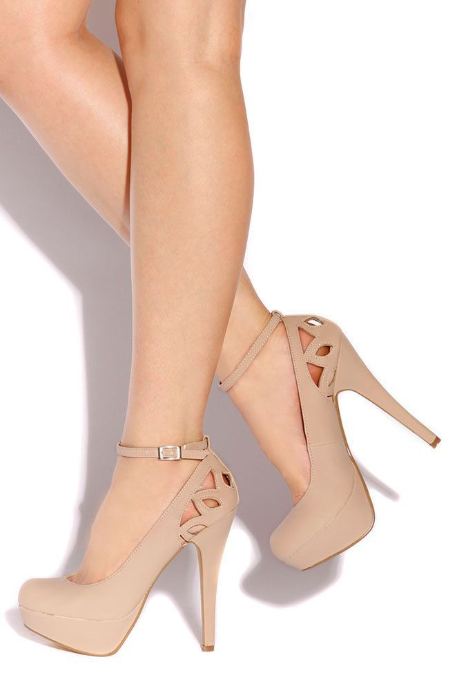 #Shoes Trendy High Heels for Women: Lola Shoetique – Fiesta – Nude, $ 29.99 (ww …   – Beautiful Dresses and shoeS