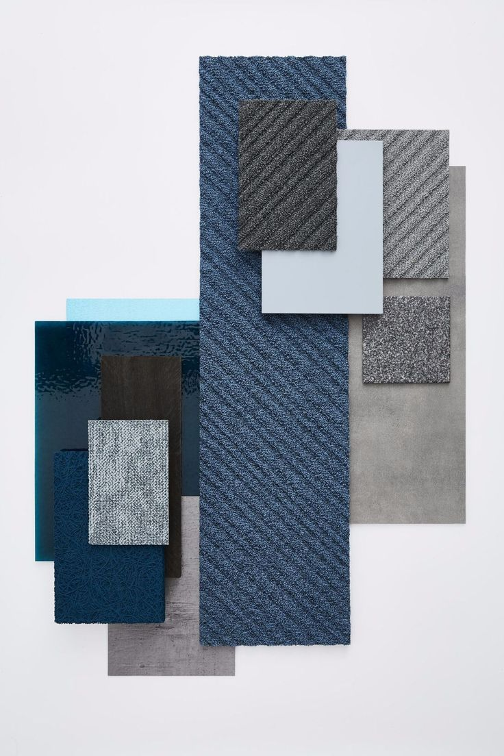 Fusion: a creative, sustainable flooring solution combining Desso's carpet offering with Tarkett's luxury vinyl tile collection #interiordesign #officedesign