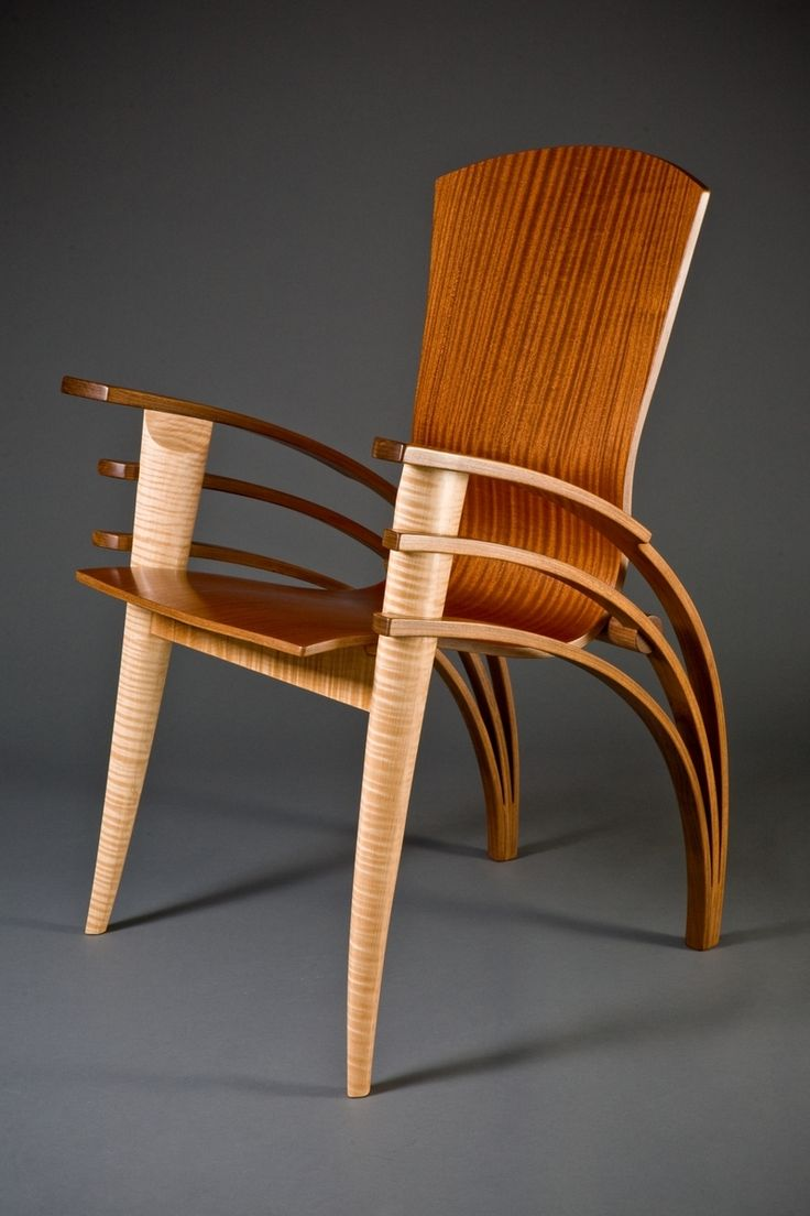 Arm morris catlin bow comfortable bow chair arm arm chairs bow arm - Contemporary Wood Dining Chair Or Desk Chair Bent Wood By Seth Rolland Custom Furniture Design Eames Chair