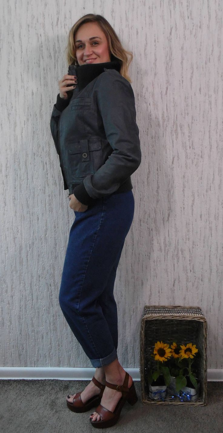 Vintage Leather Jacket by SweetSpicyVintage on Etsy