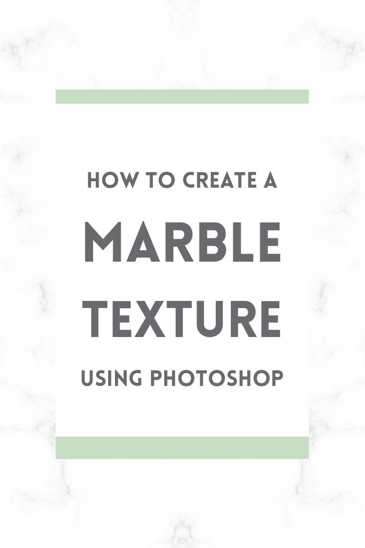 Learn how to make a marble texture in Adobe Photoshop for your blog background or graphics.