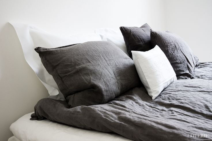 Two friends, one blog driven by a passion for fashion and interior. Join our coterie at www.coterie.fi   #Coterieofficial #Coterie #blog #interior #home #deco #decoration #decor #white #grey #Scandinavian #scandinavianstyle #scandinatiandesign #bedroom #minimalist #bed #IKEA #bedsheets #hmhome #pillowcases #Bellora1883  #ZaraHome #linensheet #Balmuir