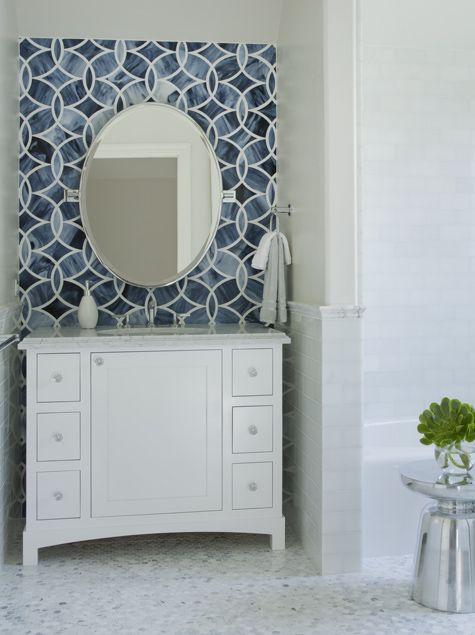 Plain Ann Sacks Glass Tile Backsplash Find This Pin And More On Beau Decor