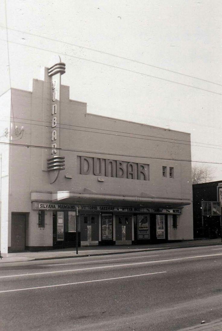 Dunbar Theater, December 1955