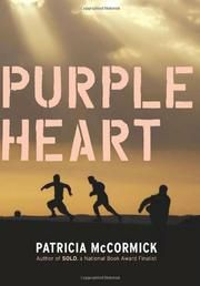 PURPLE HEART by Patricia McCormick Iowa Teen Award