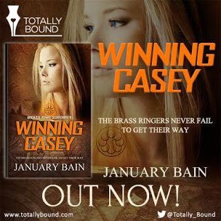 Outrageous!: New Release - Winning Casey - by @JanuaryBain [Brass Ring Sorority Series] @Totally_Bound