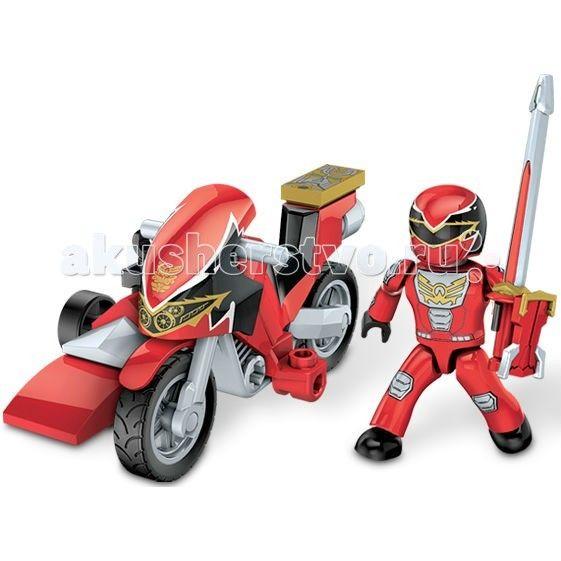 Конструктор Mega Bloks Мини-набор Могучие рейнджеры на мотоциклеМини-набор Могучие рейнджеры на мотоциклеКонструктор Mega Bloks Мини-набор Могучие рейнджеры на мотоцикле - персонажи сериалов, на которых выросло не одно поколение мальчишек. Многие из них мечтают быть похожими на своих любимых героев. Ваш ребенок будет рад тому, что теперь он сможет играть с невероятными Могучими рейнджерами! Конструктор от известного бренда Mega Bloks Мини-набор Могучие рейнджеры на мотоцикле Красный рейнджер…