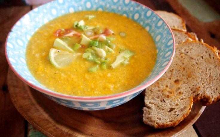 Mexicaanse maïssoep - Het is SOEPTIJD! In deze tijd van het jaar eten wij zoveel en zo vaak mogelijk soep. Soep is...