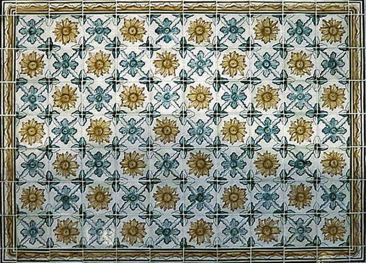 kafle ręcznie formowane i malowane, azuejlos, Tiles are hand-formed, painted and glazed: azuejlos;   http://www.luxform.pl/