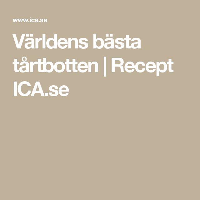 Världens bästa tårtbotten | Recept ICA.se