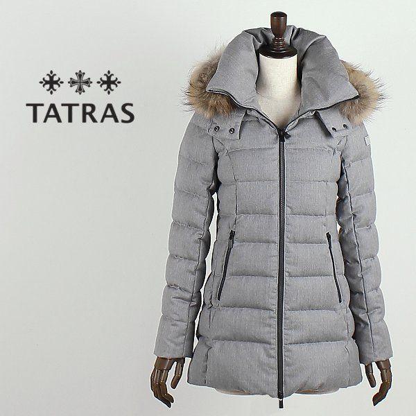【楽天市場】TATRAS タトラス レディース セミロング ファー付き ウールダウンジャケット CERAMICA LTA16A4492 (ライトグレー)【レビューを書いて送料無料】:ラグラグマーケット