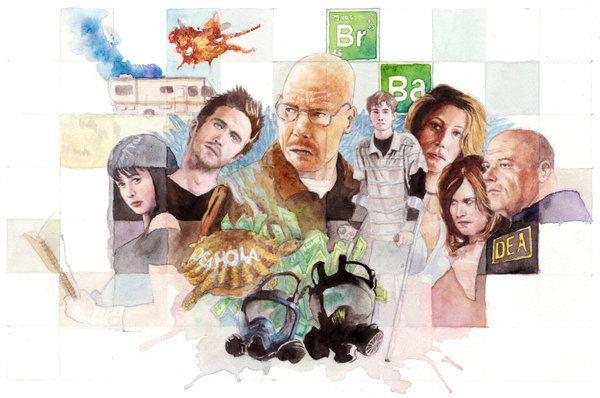 CyBeRGaTa: Breaking Bad Fan Art