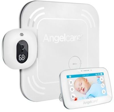 """Angelcare® AC417 4.3"""" Touchscreen Movement, Video, and Sound Monitor with Wireless Sensor Pad"""