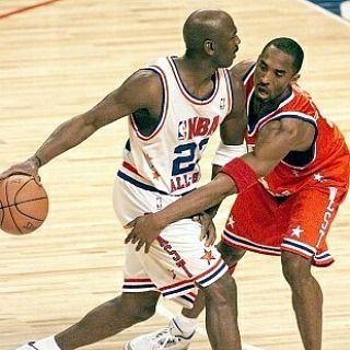 Don't reach young blood  #kobe #bryant #kb8 #black #mamba #michael #jordan #mj #airjordan #allstar #game #23 #nba #nofilter #photooftheday #basketball