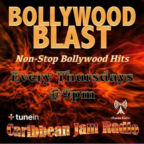 Bollywood Blast - Every Thursdays at 9pm on CJR.