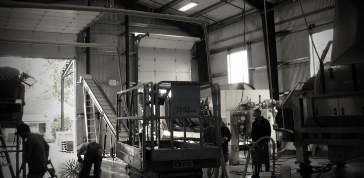 Argyle Winery Crush and Fermentation Facility Exterior Architecture Oregon