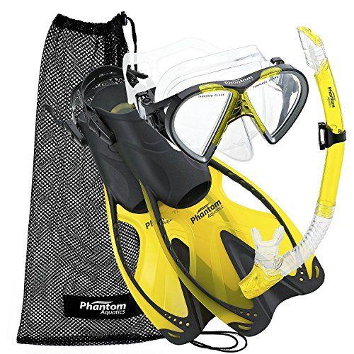 Speed Sport Schnorcheln schwimmen Maske Fin Schnorchel Set