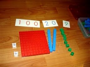learning to add with blocks