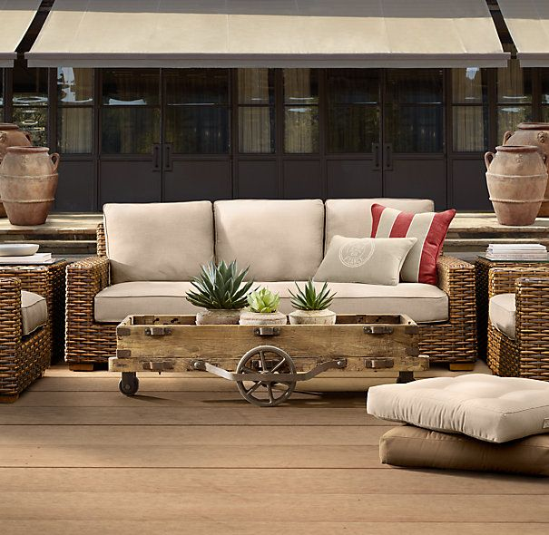 Antigua Outdoor Furniture From Restoration Hardware Makes Me Happy