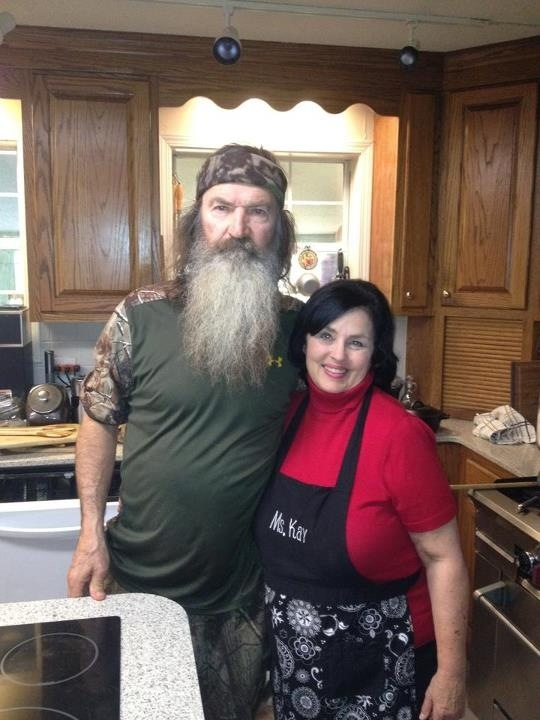 Phil and Kay from Duck Dynasty