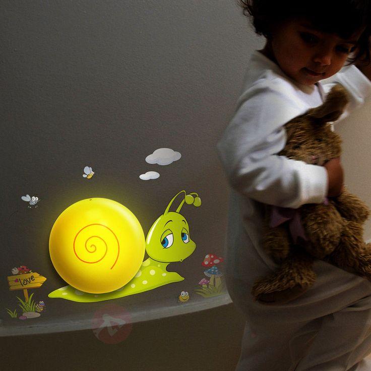Lovely Snail - lampka nocna LED 5251007