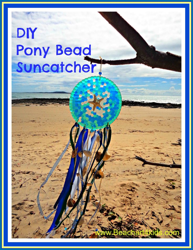 DIY Melted Pony Bead Suncatcher. A fun and simple crafty project to do with the kids. Grab yourself some pony beads, see our how to and get melting....