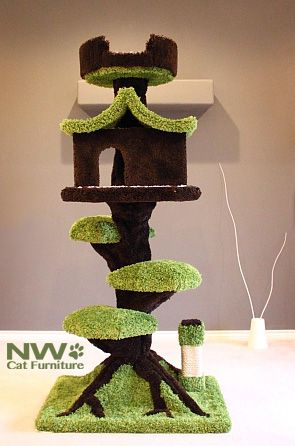 Cat Furniture, Cat Trees, Cat Condos, Cat Towers, Cat Tree Condos - NW Cat Trees