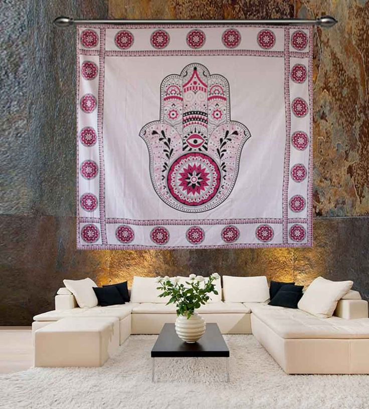 Red astrology spiritual wall hanging tapestry. Perfect for topping a bed, couch, wall or your favorite chair.This Wall Tapestry can also be used as a: - Tapestry or a Wall Hanging, Bedspread, Bed Cover, Table Cloth, Curtain, Dorm Decor, Picnic Sheet Add an ethnic feel to your room with this cotton handmade wall hanging.
