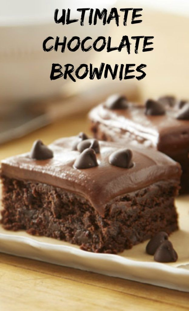 Ultimate Chocolate Brownies Recipe