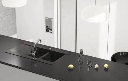 Marmorin öntött gránit mosogató     Teljesen fekete mosogató?     Lehetséges! Marmorin Voga II mosogatója is csodás fekete színben pompáz, de ez a Marmorin más modelljeivel is lehetséges, sőt még további 12-féle színben választhatóak. Látogass el weboldalunkra és nézd meg a te kedvencedet! :)     www.marmorin.hu   www.marmorin.hu/hol_vasarolhatok    #marmorin #mosogató #gránit
