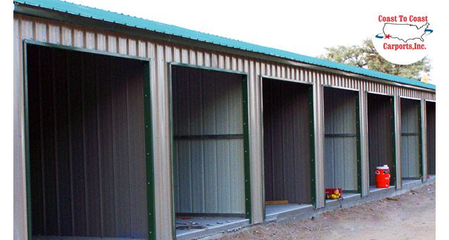 Low prices and expert guidance, have the building fit your exact needs. You can't beat our metal storage building prices at Coast to Coast Carports