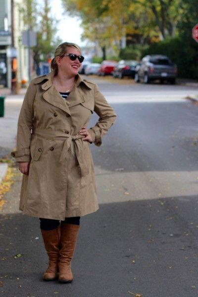 New season, new coat: McCall\'s 5525 trenchcoat | Schnittmuster Jacke ...